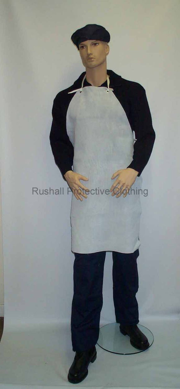 Chrome Leather Apron 36x24 Inches