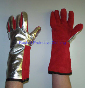 Heat Resistant Gauntlet Thermolined Throughout