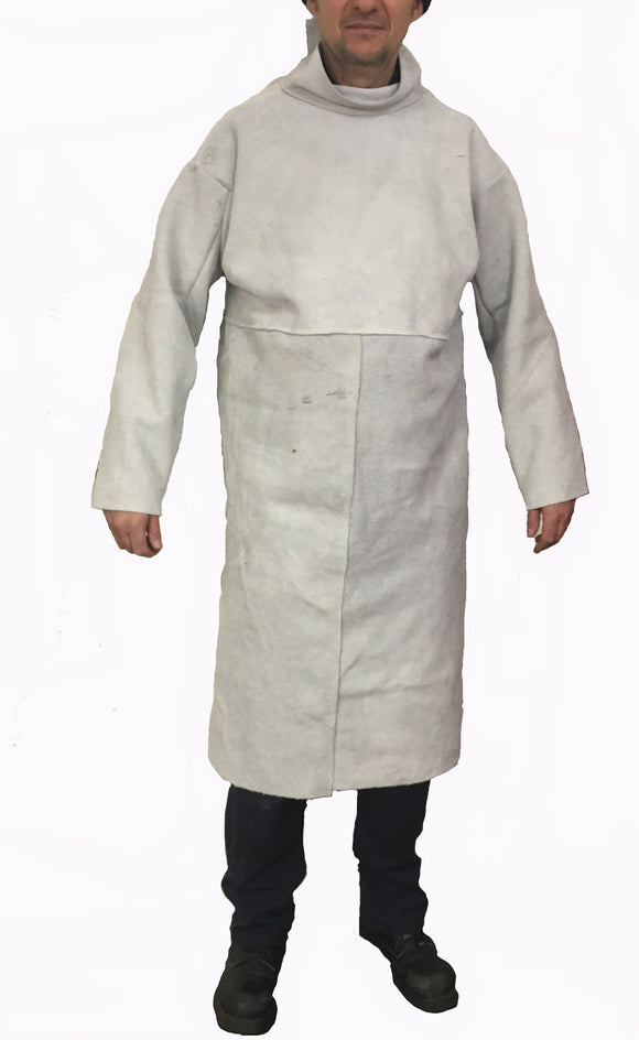 Chrome Leather (thick Leather) Smock