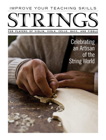 Improve Your Teaching Skills:  Celebrating an Artisan of the String World
