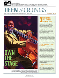 Teen Strings Tip Sheet #14: 3 Tips for the 21st Century String Player