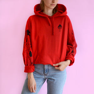 Little Red Riding Hoodie (Hand Printed)