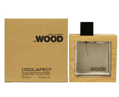DESW13M - Dsquared2 He Wood Eau De Toilette for Men - 3.4 oz / 100 ml Spray