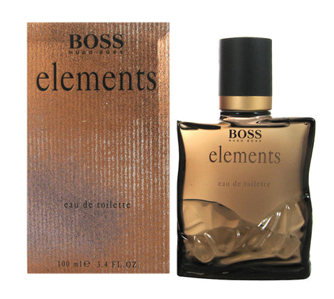BO387M - Boss Elements Eau De Toilette for Men - Pour - 3.4 oz / 100 ml