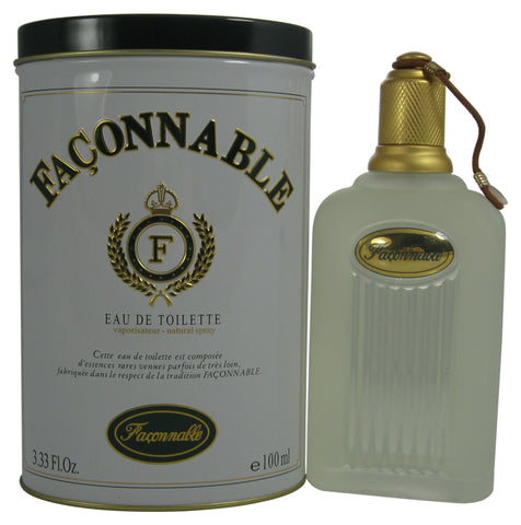 FA36M - Faconnable Eau De Toilette for Men - 3.33 oz / 100 ml Spray