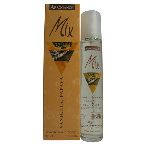 ARRW3-P - Arrogance Mix Vanilla Papaya Eau De Toilette for Women - 3.38 oz / 100 ml Spray