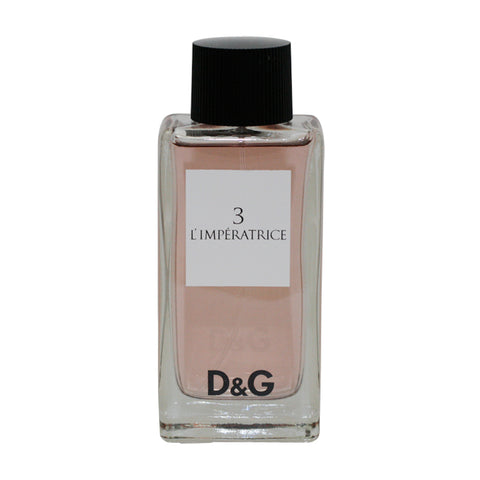 DOLB13T - Dolce & Gabbana D & G 3 L'Imperatrice Eau De Toilette for Women Spray - 3.3 oz / 100 ml - Tester