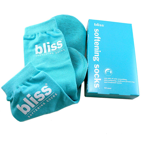 BLS36 - Softening Socks Spa Treatment Socks for Women - 1 Pair