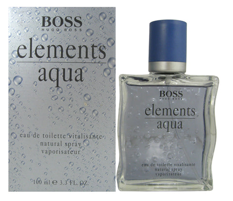 BO23M - Boss Aqua Elements Eau De Toilette for Men - Spray - 3.3 oz / 100 ml