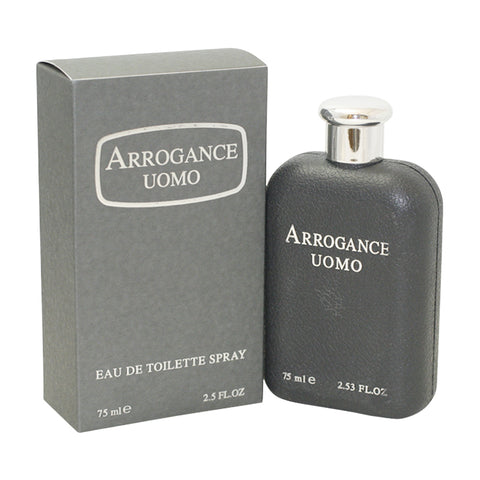 ARR98-P - Arrogance Uomo Eau De Toilette for Men - Spray - 2.5 oz / 75 ml