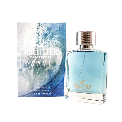 HOLW03M - Hollister Wave Eau De Toilette For Men - 3.4 oz / 100 ml - Spray