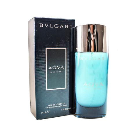 BV1M - Bvlgari Aqva Pour Homme Eau De Toilette for Men - 1 oz / 30 ml