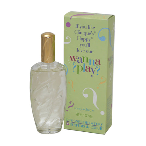WAP28 - Wanna Play Parfum for Women - Spray - 1 oz / 28 g