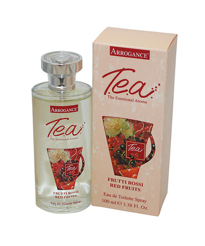 ARM29 - Arrogance T.E.A Red Fruits Eau De Toilette for Women - 3.38 oz / 100 ml Spray