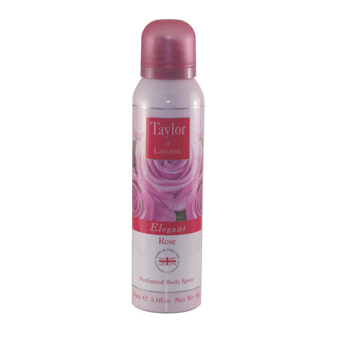 TOR10 - Taylor Of London Rose Perfumed Body Spray for Women - 5.1 oz / 150 ml