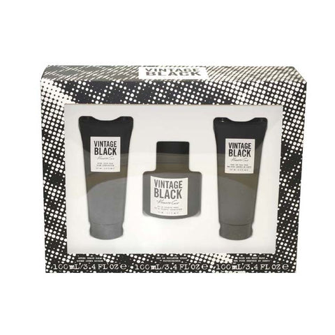 BLV3M - Vintage Black 3 Pc. Gift Set for Men