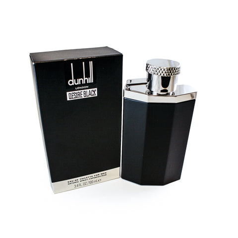 DEB4M - Desire Black Eau De Toilette for Men - 3.4 oz / 100 ml Spray