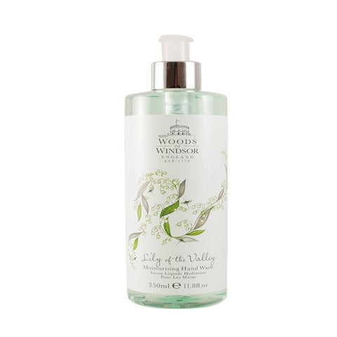 LIL88 - Woods of Windsor Lily Of The Valley. Hand Wash for Women 11.8 oz / 350 ml