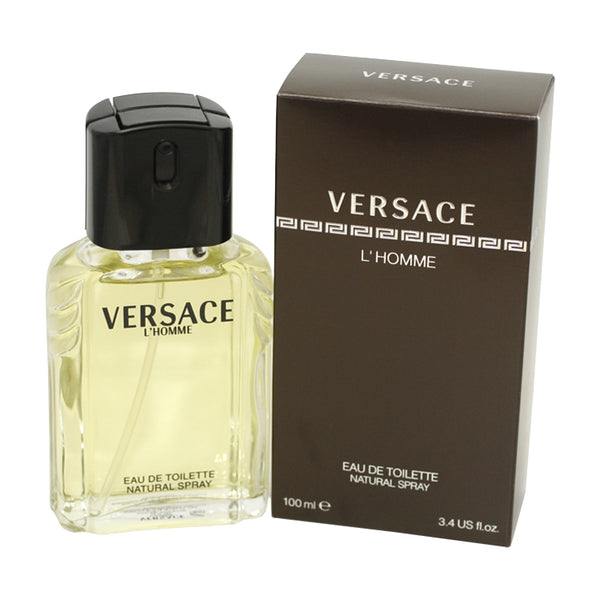 VE31M - Versace L'Homme Eau De Toilette for Men - 3.3 oz / 100 ml Spray