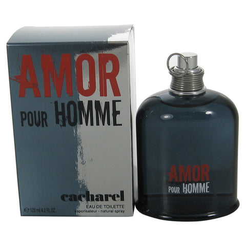 AMO15M - Amor Pour Homme Eau De Toilette for Men - Spray - 4.2 oz / 125 ml