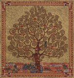 Klimt Tree of Life I Belgian Cushion Cover