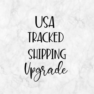 Tracked Shipping Upgrade