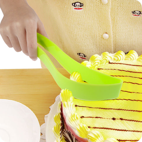 1Pcs Portable Cake Cutter Tools Kitchen Accessories Baking Pastry Tools Plastic Streamline Wire Cake Slicer Tools