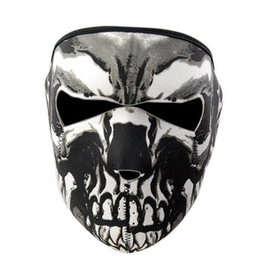 Fashion Cool Skeleton Patterned Mask Unisex Anti Dust Mask Breathable Neoprene Full Face Mask Outdoor Sport Motorcycle Bicycle Cycling Bike Ski