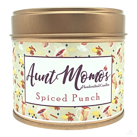 Spiced Punch Scented Container Candle-Scented Container Candle-Aunt Momo's Handcrafted Candles