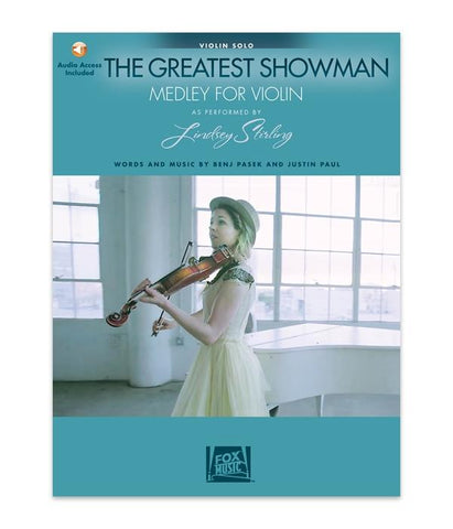 Lindsey Stirling The Greatest Showman: Medley for Violin Solo w/ Karaoke Track (Book)