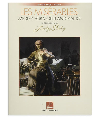 Lindsey Stirling Les Miserables: Medley For Violin And Piano Music Book