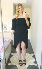April Black Dress