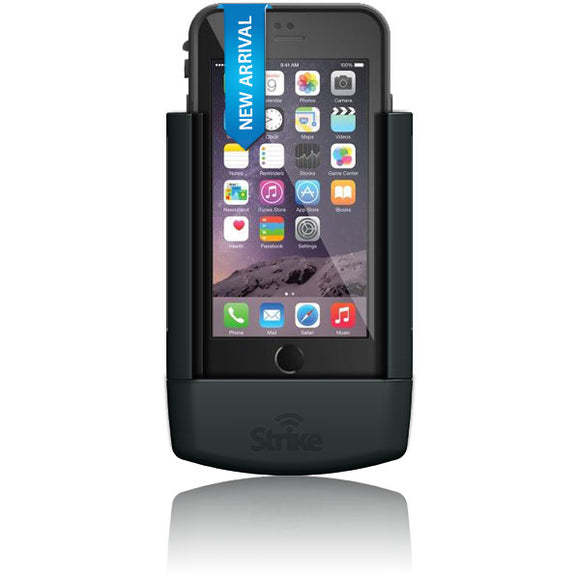 Strike Alpha Apple iPhone 6 Car Cradle with LifeProof Fre Case Bundle