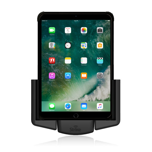 apple ipad 9 7 2017 car cradle for strike rugged case by strike alpha