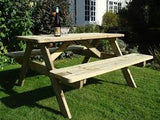 A Traditional Picnic Bench