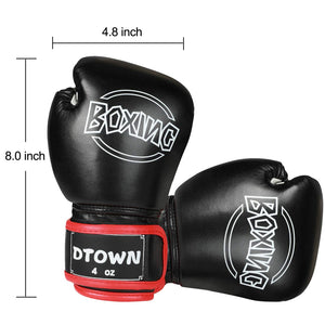 Dtown Kids Boxing Gloves for Children Age 3 to 7 Years