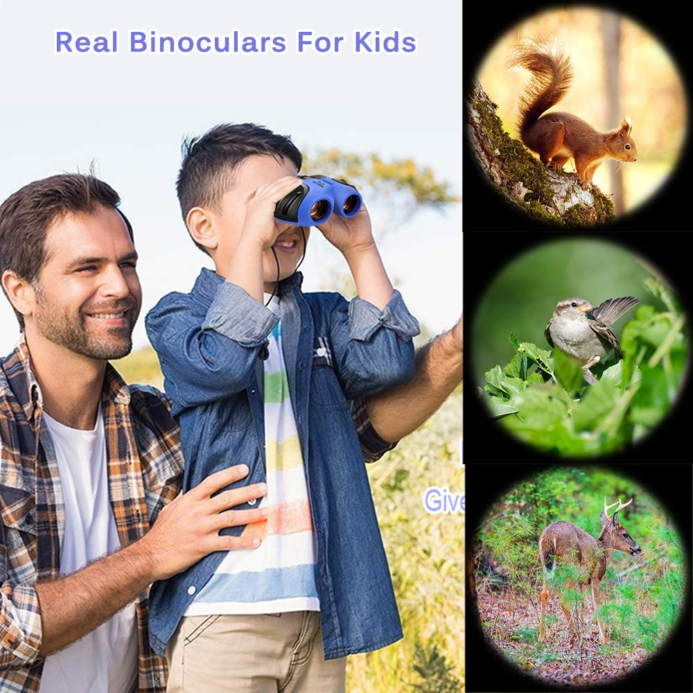 TOP Gift Compact Shock Proof Binoculars for Kids -Best Gifts