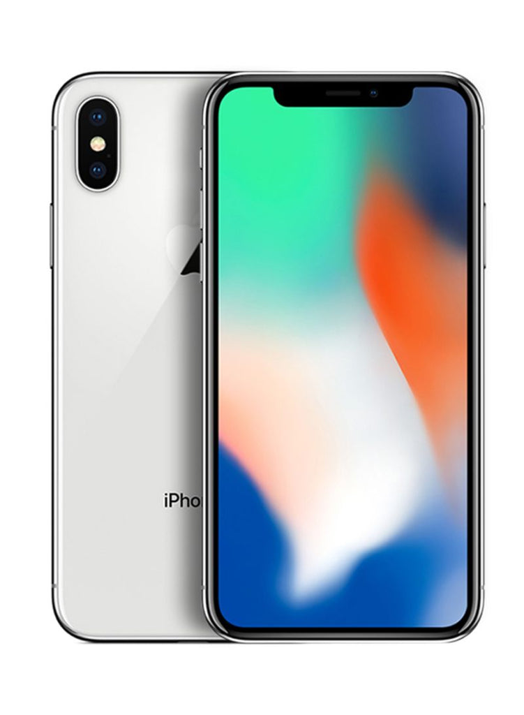 Apple iPhone X With FaceTime Silver 64GB