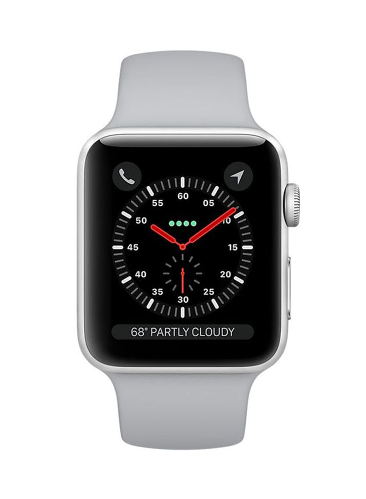 Apple Watch Series 3 Space Gray Aluminum Case With Space Gray Band