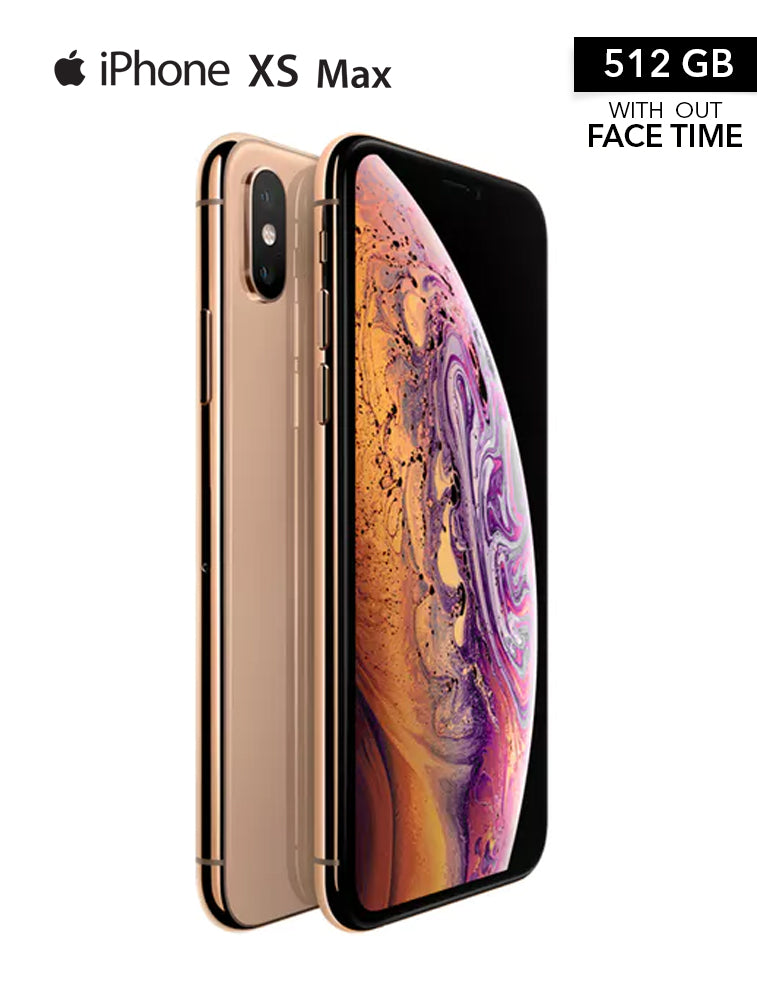 Apple iPhone Xs Max With FaceTime Gold 512GB