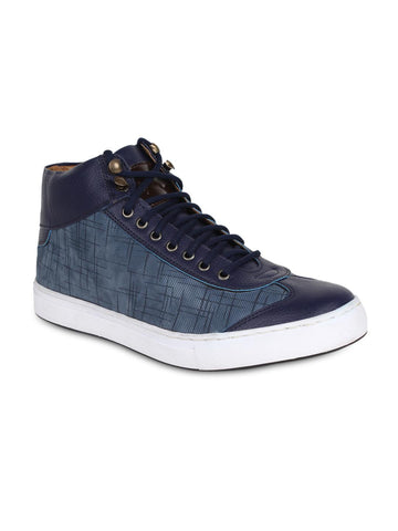 AADY AUSTIN Men Blue Casual Shoes