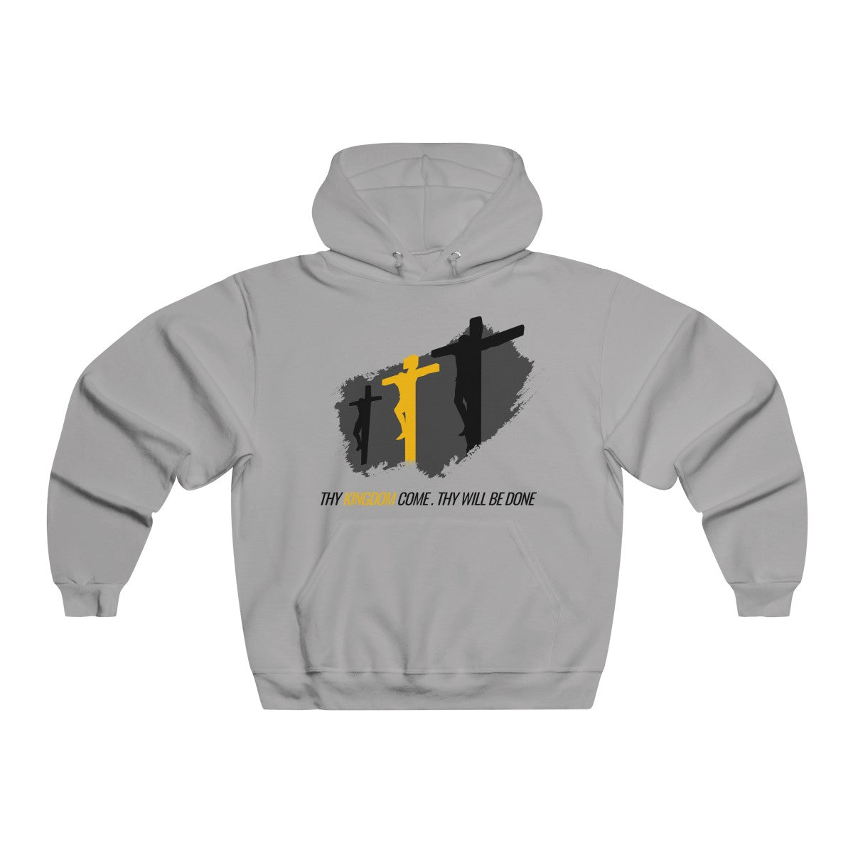 3 Crosses Men's Hooded Sweatshirt