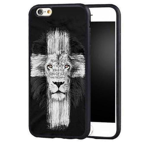 Christian lion Soft Silicone Full Protective Phone Case - The Divine Bazaar