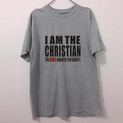 I AM THE CHRISTIAN T-Shirts - The Divine Bazaar