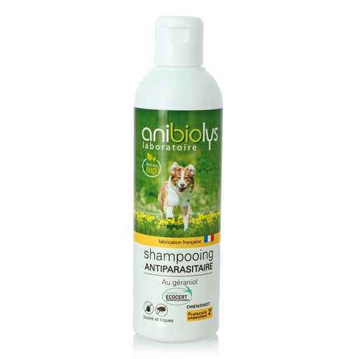 Anibiolys - Shampooing antiparasitaire chiot et chien 250 ml