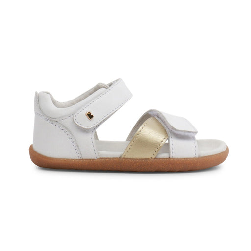 BOBUX - Chaussures cuir souple Step Up Sail - White Gold