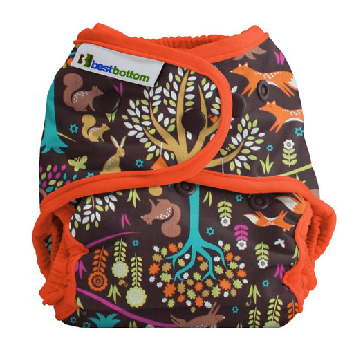 BEST BOTTOM DIAPER - Culotte de protection à pressions TE2 coton - Jewel Woods