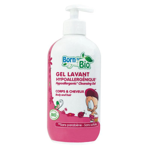 BORN TO BIO - Gel lavant bio hypoallergénique