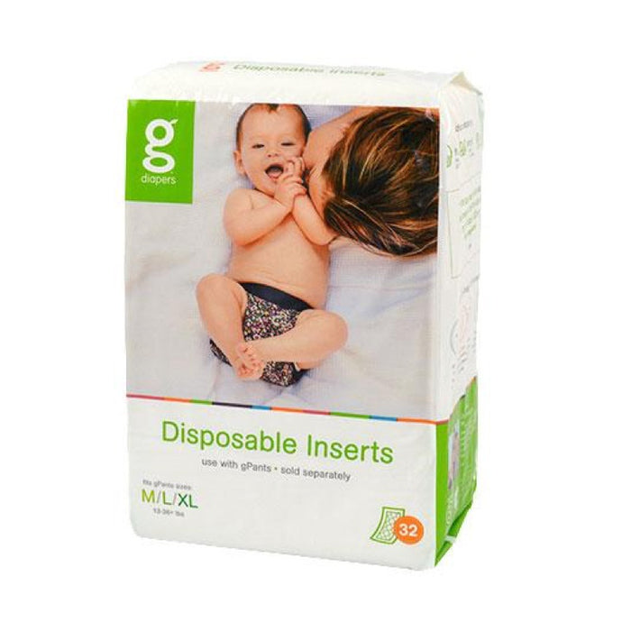 GDIAPERS - Inserts jetables biodégradables