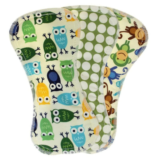 BEST BOTTOM DIAPER - Pack de 3 inserts pour culotte d'apprentissage - Vert